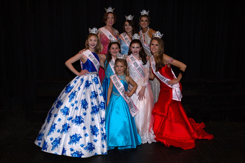 Division Winners - Miss Southern Maine Pageant 2020